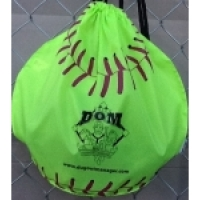 The DOM softball bag